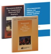 Post Tensioning 3-Part Set of Reference Books